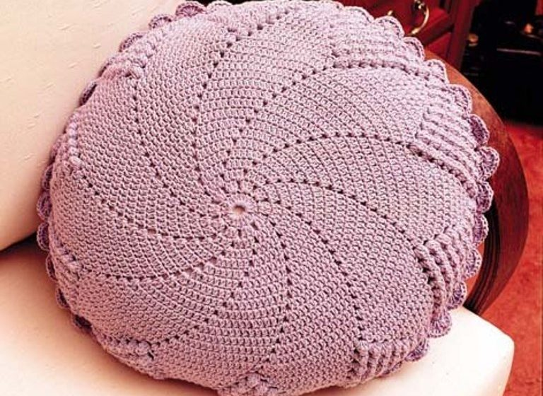 Crochet almohadones esquema