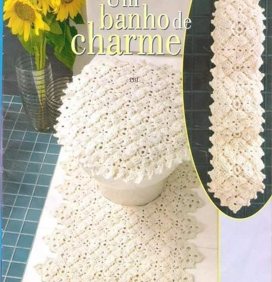Crochet juego de baños