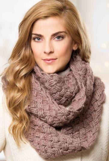 Bufanda crochet invierno