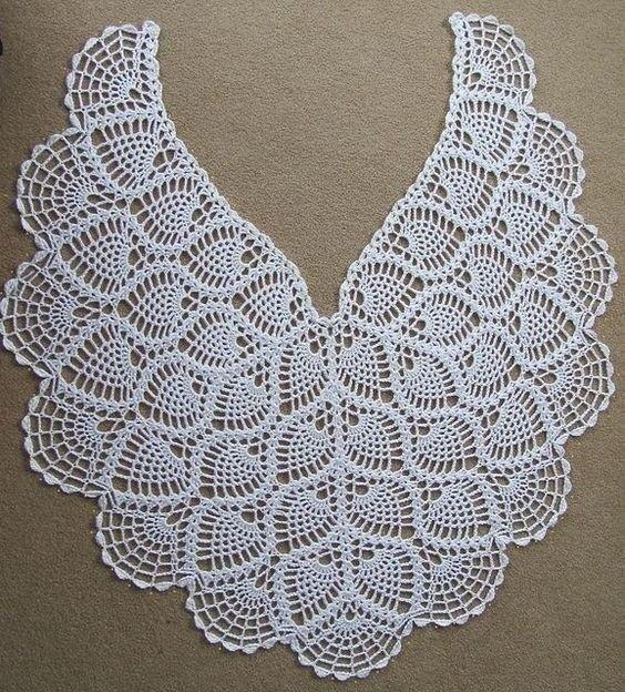 Chal crochet para el día