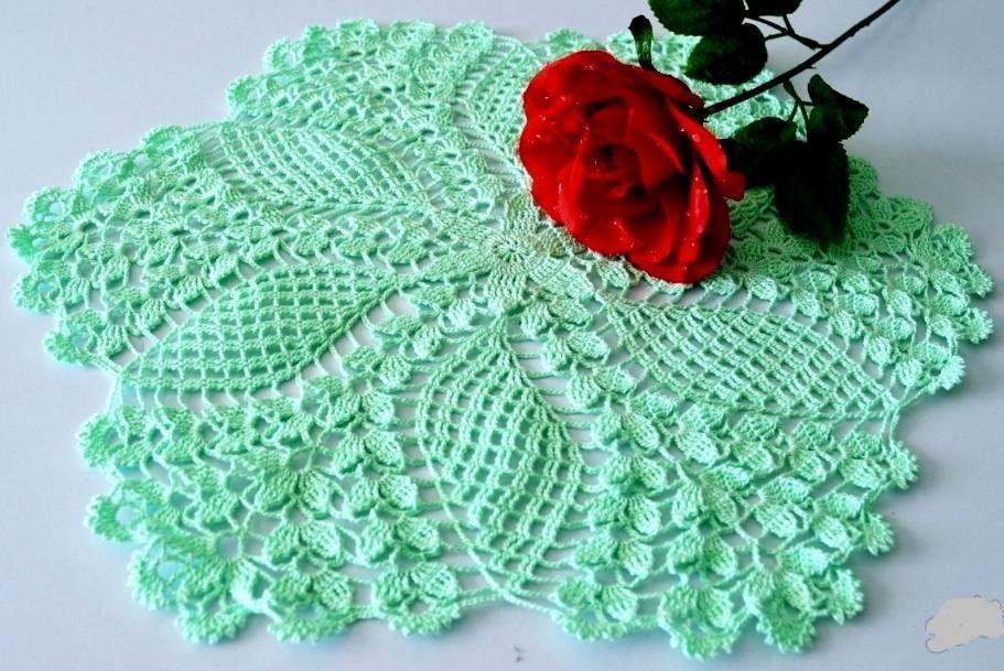 servilleta crochet